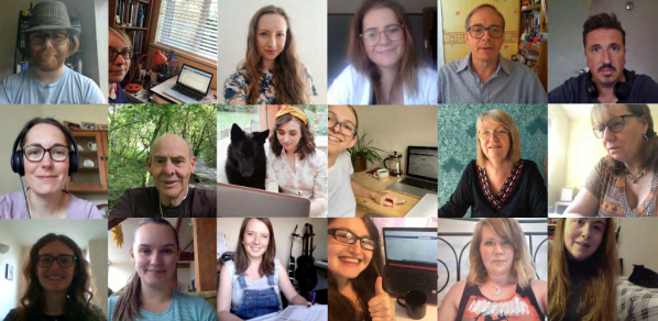 Some of the people who have helped us in their work spaces